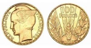100 Francs bazor