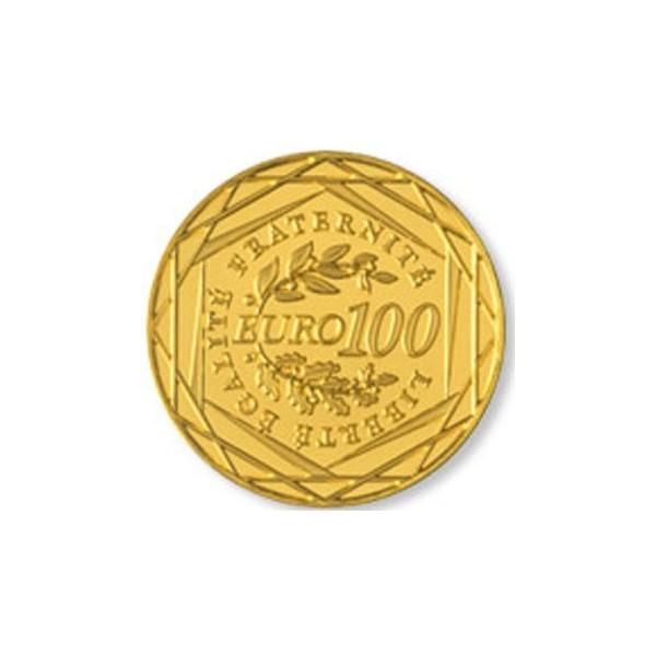 100 euro or de la monnaie de paris journal de l 39 or. Black Bedroom Furniture Sets. Home Design Ideas