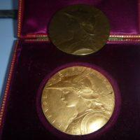 médaille or signée Roty du 19 ème siècle