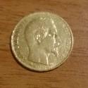 20 Francs or 1855 D